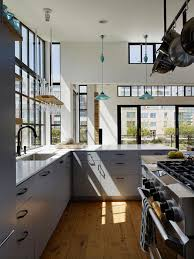 vaulted ceiling kitchen ideas photos hgtv floating house kitchen with high ceiling loversiq