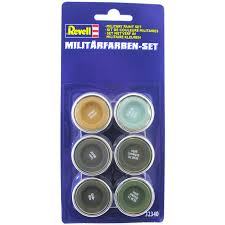 military paint set 1 from revell wwsm