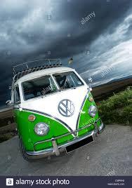 volkswagen van hippie blue green vw volkswagen split screen camper van bus hippie hippy 1960s