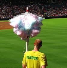 cotton candy free stock photo a cotton candy vendor at a