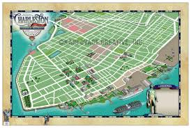 Charleston Map Charleston Historic District Illustrated Map Map Gallery Cartotalk