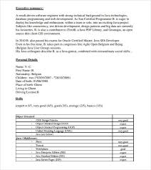Gis Resume Sample by Programmer Resume Template 6 Download Documents In Pdf Psd Word