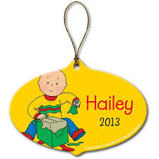 personalized caillou gift ornament walmart