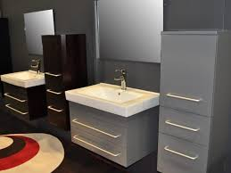Bathroom Vanity 54 Inch by Bathroom 52 54 Inch Bathroom Vanity B1380 Wn Low 1 Modern