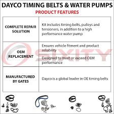 lexus is300 hk dayco timing belt water pump kit 01 05 lexus is300 oem upgrade