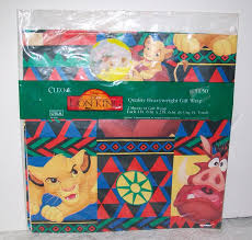 lion king wrapping paper brown christmas wrapping papers happy holidays amazoncom disney