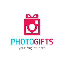 gifts logo template ready to print 100 vector scaleable