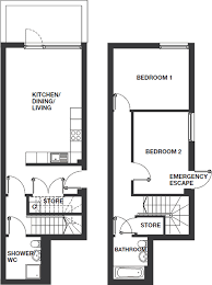 apartment types and floor plans new homes for rent from red door