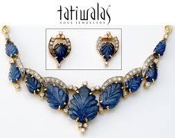 blue sapphire necklace set images Blue sapphire pendant set ps d cs083 buy polki diamond indian jpg