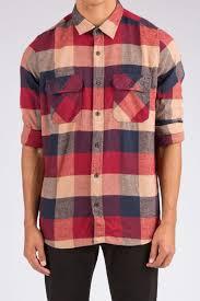 west 49 guys basic two pocket plaid flannel shirt