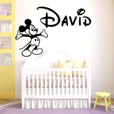 personalized pictures with names personalized wall decals names buy personalized name mickey mouse