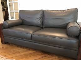 canapé cuir et bois achetez canapé cuir et bois occasion annonce vente à versailles 78