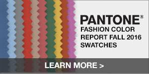 Color For 2016 Fall 2016 Pantone Fashion Color Report