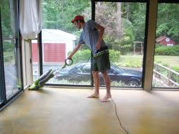 How To Stain Concrete Patio Yourself Staining A Concrete Floor Is Easy Just Follow Our Step By Step