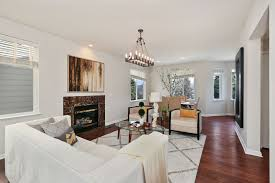 Shaggy Rugs For Living Room Living Room With Hardwood Floors U0026 Chandelier In Daly City Ca