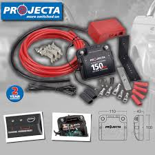 projecta dbc150k 150 car electronic dual battery isolator