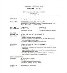resume template accounting internships summer 2017 illinois deer internship resume template word resume sle