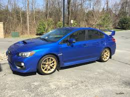 bugeye subaru stock painted my stock wheels gold it u0027s like it was meant to be subaru