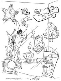 nemo coloring book pages coloring