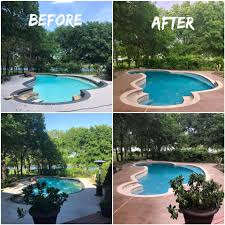 swimming pool renovation remodeling contractor complete