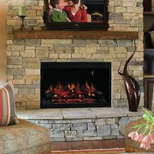 Electric Wallmount Fireplace Classic Flame 36