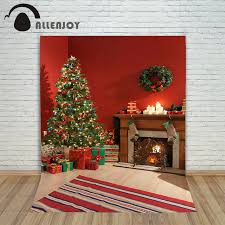 Aliexpress Com Buy Allenjoy Photography Backdrops Christmas Tree