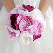 peonies bouquet aliexpress buy new simple style bridal pink bouquet peony