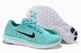 light blue shoes womens nike free 4 0 v2 flyknit light blue black running shoes women