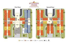 senior living floor plans rittenhouse village at valparaiso