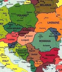 map of eastern european countries the 25 best macedonia map ideas on