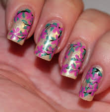 set in lacquer flowers