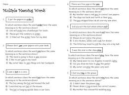 Meaning Words Worksheets Meaning Words Chalkboards