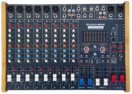 studiomaster pro audio equipment
