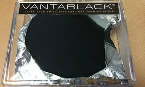 Can You Black With Color Vantablack The Material So You Can T See It