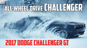 All Wheel Drive Dodge Dart The Dodge Challenger Plays Its Trump Card All Wheel Drive Autoblog