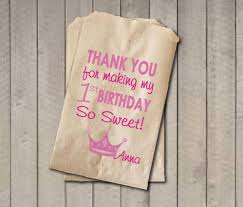 princess candy bags girl birthday favor bags princess candy bags birthday favor
