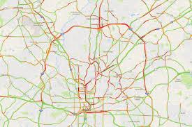 Traffic Map Boston by Atlanta Traffic Hits Peak Terribleness As Workweek Progresses
