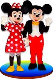 talking minnie mickey mouse party entertainer mascots