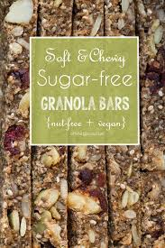 Top 10 Healthiest Granola Bars by Soft Chewy Baked Granola Bars Recipe Granola Sugar Free And Bar