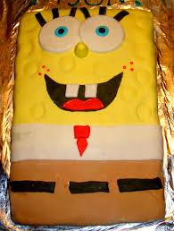 Spongebob Centerpiece Decorations by Momma Melly Spongebob Third Birthday Party