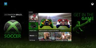 xbox one to launch u0027brazil now u0027 app for world cup debuts original