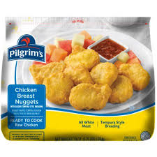 pilgrim s pride application pilgrims frozen rtc tempura nugget 1 75 lbs walmart