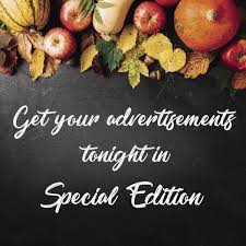 get your advertisements in thanksgiving special edition pueblo