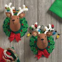 100 seasonal home decorations bucilla seasonal felt décor felt christmas seasonal herrschners