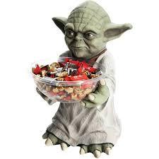 yoda candy bowl halloween decoration walmart com