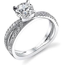 wedding rings cross images Sylvie criss cross diamond engagement ring h l gross jewelers png