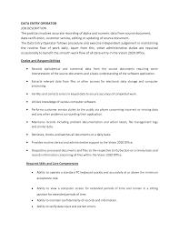 data entry sample resume data entry specialist job description resume resume for study