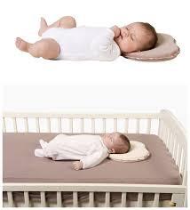 sell newborn crib infant support organic cotton head shaping