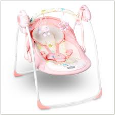 cheap pink baby bouncer chair chairs home decorating ideas