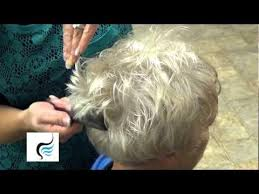 hair styles for women over 70 with white fine hair how to style trendy haircut for grandma hairstyle youtube